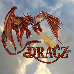 Dragz logo - a free multiplayer browser game about dragons
