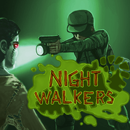 Nightwalkers.io logo - a free zombie survival browser multiplayer game