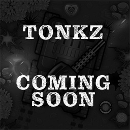 Tonkz logo - a multiplayer browser game in development about tanks